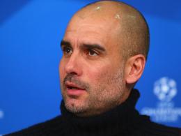 Hat wie immer die Qual der Wahl: Bayern-Coach Pep Guardiola.