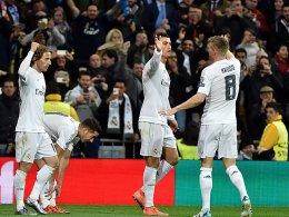Luka Mordic, Cristiano Ronaldo und Toni Kroos