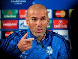 Zidanes Taktik: Wolfsburg starkreden