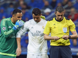 Was Navas Ronaldo vor dem 3:0 ins Ohr fl�sterte
