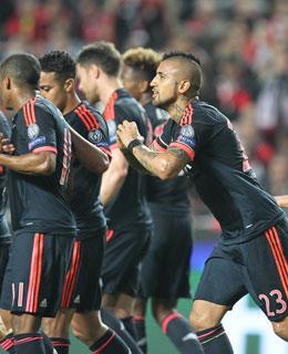 Schob den FC Bayern in Lissabon an: Arturo Vidal.
