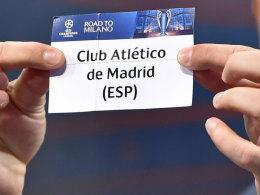Der FC Bayern trifft auf Atletico Madrid.