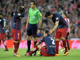 Schock f�r Atletico: Godin fehlt gegen Bayern