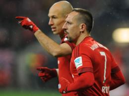 Franck Ribery, Arjen Robben, FC Bayern München