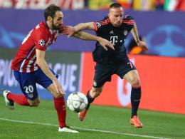 Ribery gibt gr�nes Licht f�r Atletico