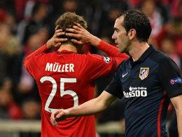 Bayern ausgeschieden! M�ller-Fehlschuss r�cht sich