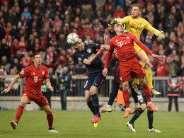 LIVE! Lewandowski ist da - Bayern fehlt noch ein Tor!