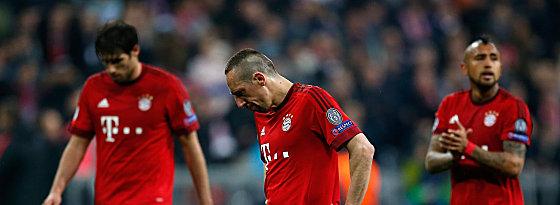 """""""Die sind natürlich todtraurig"""": Die Enttäuschung bei den Bayern war riesig."""