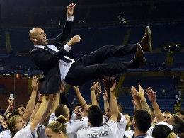 Real 2016: Dank Zidane durchaus k�niglich