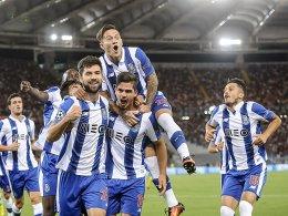 Porto schl�gt dezimierte Roma - Celtic zittert sich weiter