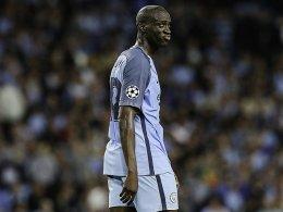 Ausgebootet: Yaya Touré fehlt in der Champions League