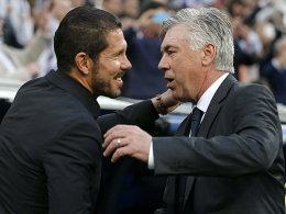 Atletico wird für Ancelotti zum ersten Prüfstein