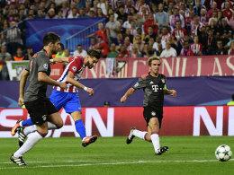 Atletico schlägt Bayern - Gladbach verpasst Sensation