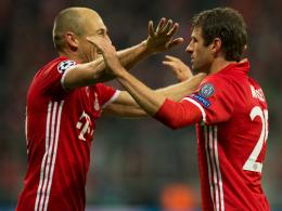 Wirbelsturm Robben, Müller, Lewandowski