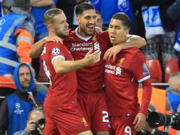 Bilder: Liverpool feiert dank furiosem Start