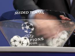 Champions-League-Auslosung: Wer sicher in welchem Topf ist