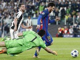 Barça vs. Juve: Kann Messi Buffon doch bezwingen?