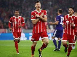 Bayern startet mit glanzlosem Sieg gegen zehn Belgier