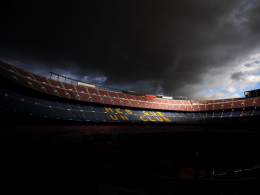 Bilder: Wetterleuchten im Camp Nou - Tore satt