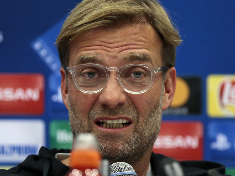 Jürgen Klopp auf Pressekonferenz: