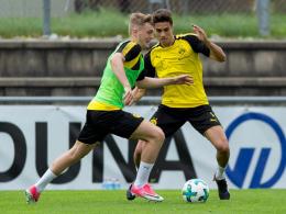 Larsen und Sancho sorgen für späten BVB-Sieg