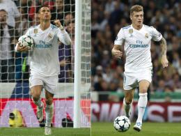 Ronaldo knackt die 50 - Kroos' neuer Bestwert
