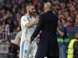 Zidane bleibt optimistisch - Platzt Benzemas Knoten?