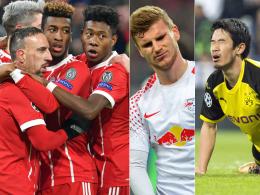 Nur Bayern gerüstet: Momentaufnahme oder Negativtrend?