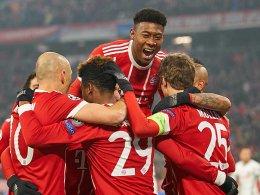 5:0 gegen Besiktas: Bayern klar auf Viertelfinal-Kurs