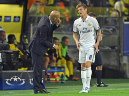 Kroos & Co. sind bereit: Zidane hat die Qual der Wahl