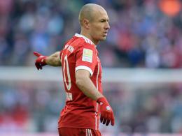 Es zwickt: Bayern ohne Robben nach Istanbul