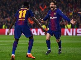 Barcelona folgt den Bayern ins Viertelfinale