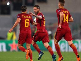 Liverpool weiter - Roma schafft Sensation gegen Barca