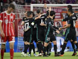 Bayerns Chancen-Wucher - Real siegt 2:1 in München
