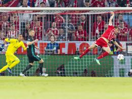LIVE! Müller artistisch - Thiago ersetzt verletzten Robben