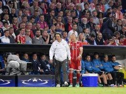 FC Bayern: Ohne Robben nach Madrid