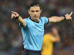 UEFA gibt bekannt: Mazic leitet das Champions-League-Finale