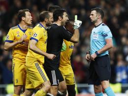 Buffon für drei Champions-League-Spiele gesperrt