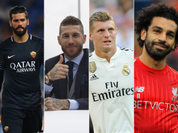 Die Besten der Besten: UEFA gibt Kandidaten bekannt