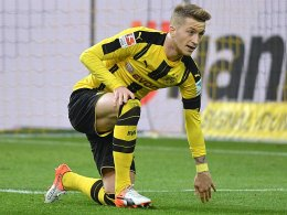 Angeschlagen: Dortmund bangt um Reus