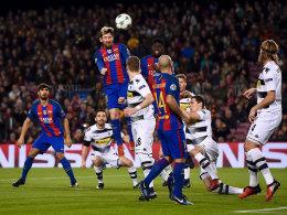 LIVE! Barça führt dank Messi - Rasgrad bei PSG vorn