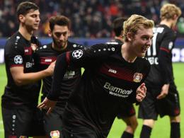 Leverkusens Bilanz: Ungeschlagen ins Achtelfinale