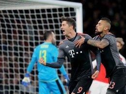 Souverän! Bayern und Real stehen im Viertelfinale