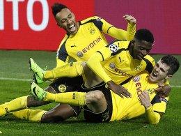 BVB stürmt ins Viertelfinale - Barça schafft das Wunder
