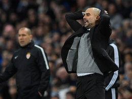 Guardiola fordert Offensive: