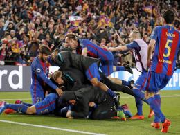 Nach Platzsturm gegen PSG: Geldstrafe für Barça