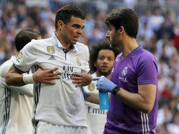Nackenschlag für Real: Rippenbrüche bei Pepe!