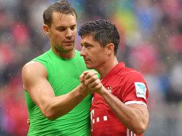 Lewandowski fehlt im FCB-Training - Neuer ist zurück