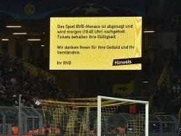 Explosion am BVB-Bus: Spiel abgesagt!