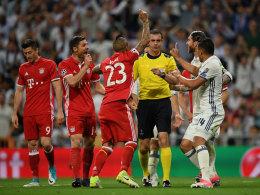 Sieben Fehlentscheidungen - nicht alle gegen Bayern